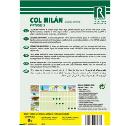 Couve Milán Virtudes 3