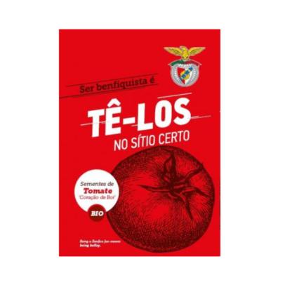 Sementes Edição Especial Benfica – Tomate Coração de Boi BIO