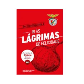 Sementes Edição Especial Benfica – Cebola Branca BIO
