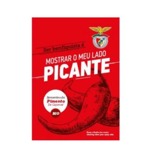 Sementes Edição Especial Benfica – Pimento Cayenne BIO