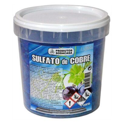Sulfato De Cobre 1.2Kg