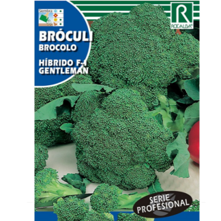 Brócolo Híbrido F-1 Gentleman